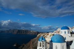 Oia, Santorini, Greece Stock Photos