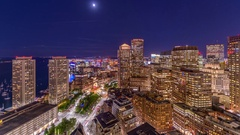Boston Massachusetts Time Lapse Arkistovideo