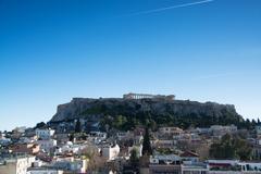 Acropolis of Athens, Geece Stock Photos