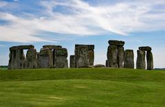 Stonehenge, Wiltshire, Grobritannien Stock Photos