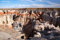 Coal Mine Canyon, Arizona, USA Stock Photos