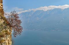 Lake Garda, Lombardy, Italy Stock Photos