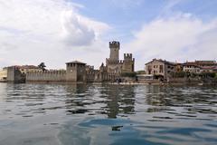 Sirmione, Lombardy, Italy Stock Photos