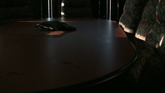Empty Business Room With Table Arkistovideo
