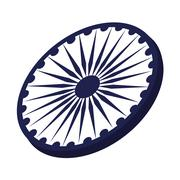 Ashoka Chakra symbol Piirros
