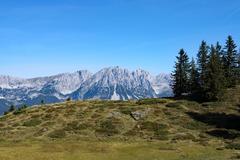Wilder Kaiser, Tyrol, Austria Stock Photos