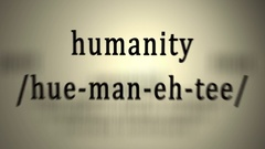 Definition: Humanity Stock Footage