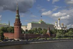 View on Moscow Kremlin Stock Photos