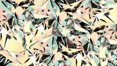 Loopable diamond surface 4k video Stock Footage