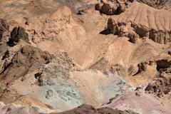 Artists Palette, Death Valley NP, California USA Stock Photos