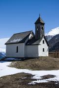 Chapel at the Alp Islitzer, East Tyrol, Austria Stock Photos