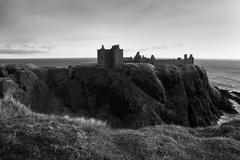 Dunnottar Castle, Schottland Stock Photos
