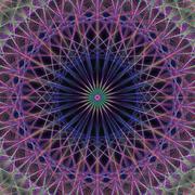 Computer generated vector fractal background Stock Illustration