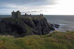 Dunnottar Castle, Scotland Stock Photos