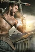 Gladiator/Barbarian warrior Kuvituskuvat
