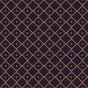 Abstract geometric ethnic seamless ornament pattern Stock Illustration