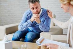 Looking for empathy Stock Photos