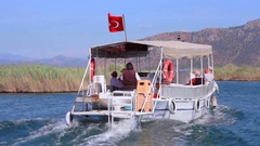 Turkey Dalian River Stock Footage