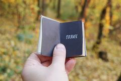 Travel agency idea Stock Photos