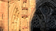 Nuremberg, church of Our Lady Stock Footage