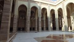 Inside Al Fateh Grand Mosque 4K Stock Footage