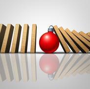 Christmas Help Stock Illustration