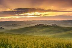 Tuscan landscape Stock Photos