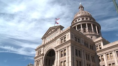 Texas State Capitol Building Capital Stock Footage