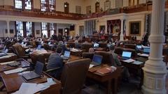 Texas House of Representatives Texas Capitol Stock Footage