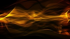 Abstract Slow Motion Flame Background Loop Stock Footage