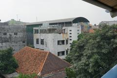 Old building abandon in jakarta indonesia Stock Photos