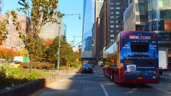 Drivers point of view New York Stock Footage