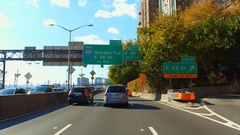 FDR Manhattan Midtown New York Stock Footage