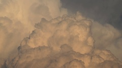 Timelapse of cumulonimbus clouds Stock Footage