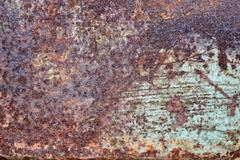 Old texture background pianted metal Kuvituskuvat