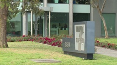7-Eleven (711) Head Office (Static) Stock Footage