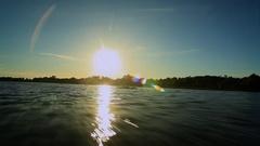Pantanal South Sun Rise Arkistovideo