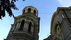 Nativity of Christ Cathedral, Riga, Latvia Stock Footage