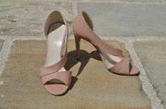 Elegant Stiletto Sandals Stock Photos
