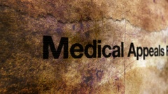 Medical appeals form Stock Footage