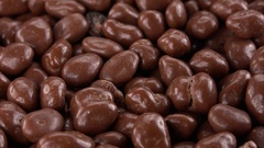 Raisins (with Chocolate) as seamless loopable 4K footage Arkistovideo