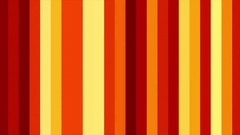 Warm Red Vertical Columns Stripes Shifting Cycle Abstract Motion Background Loop Stock Footage