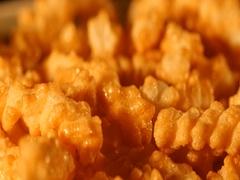 Set Honey chips Stock Footage