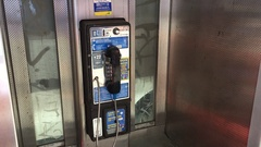 New York City to Replace Pay Phones With Free Wi-Fi. Stock Footage