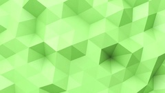Green low poly texture Stock Footage
