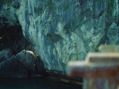 Beautiful Deserted Islands in the middle of Pacific ocean Stock Footage