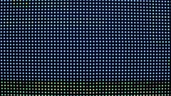 Bright colored blue LED smd screen - close up background Stock Footage