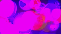 Background, colored-highlights blink Stock Footage
