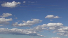 Electricity Pole and Solar Power Station Stock Footage