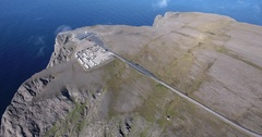 The North Cape and Knivskjellodden Stock Footage